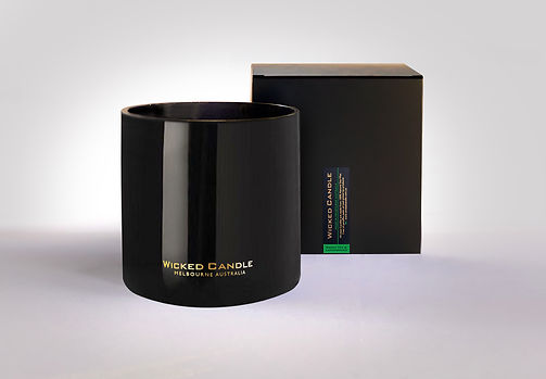 Wicked Candle_4 Wick Large Black Jar_Gre