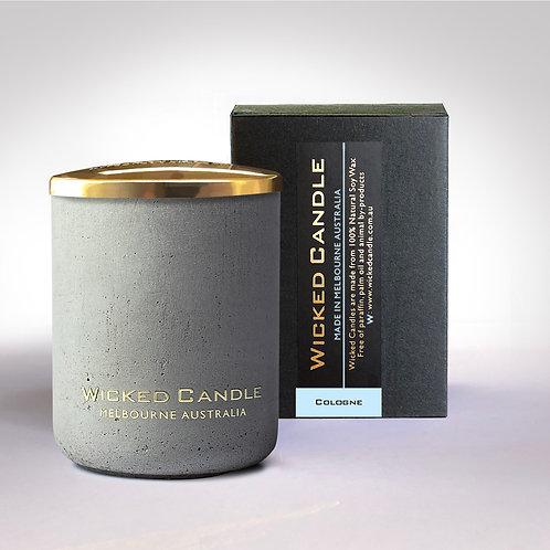 Small Concrete Jar (Grey) - Cologne