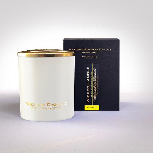 Large Glass Jar (White) - Australia
