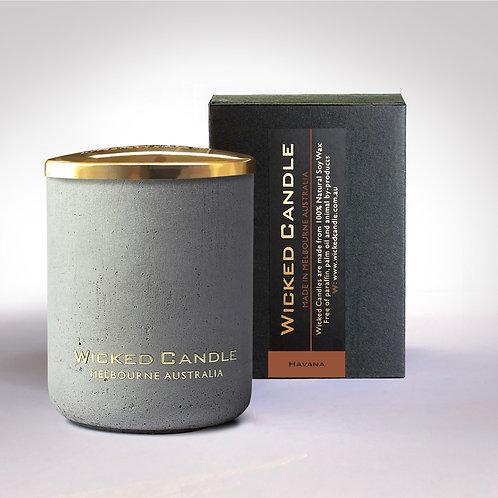 Small Concrete Jar (Grey) - Havana