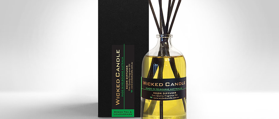 Diffuser - Greentea & Lemongrass