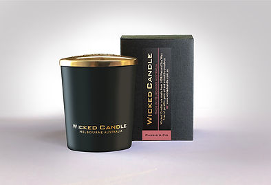 Wicked Candle_Small Black Jar_Cassis & F