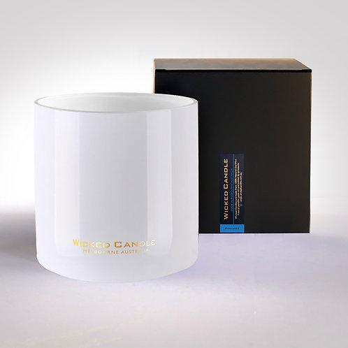 4 Wick Jumbo Jar (White) - Paradise