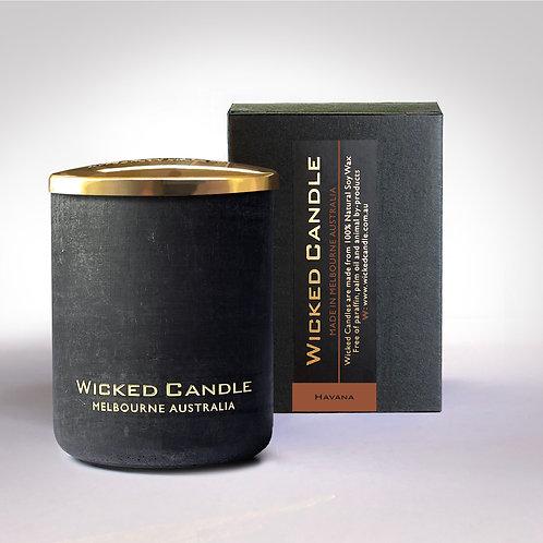 Small Concrete Jar (Black) - Havana