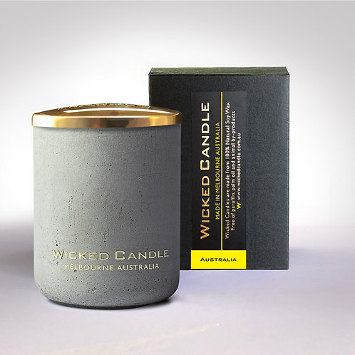 Small Concrete Jar (Grey) - Australia