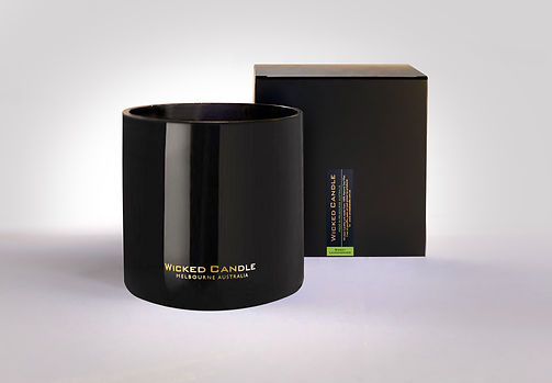 Wicked Candle_4 Wick Large Black Jar_Swe