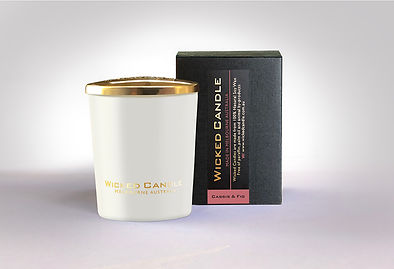 Wicked Candle_Small White Jar_Cassis & F