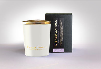 Wicked Candle_Small White Jar_Vanilla La