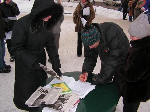 сбор подписей размещение сми выборы