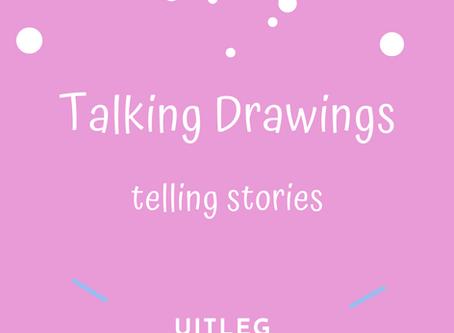 De uitleg van het logo van Talking Drawings