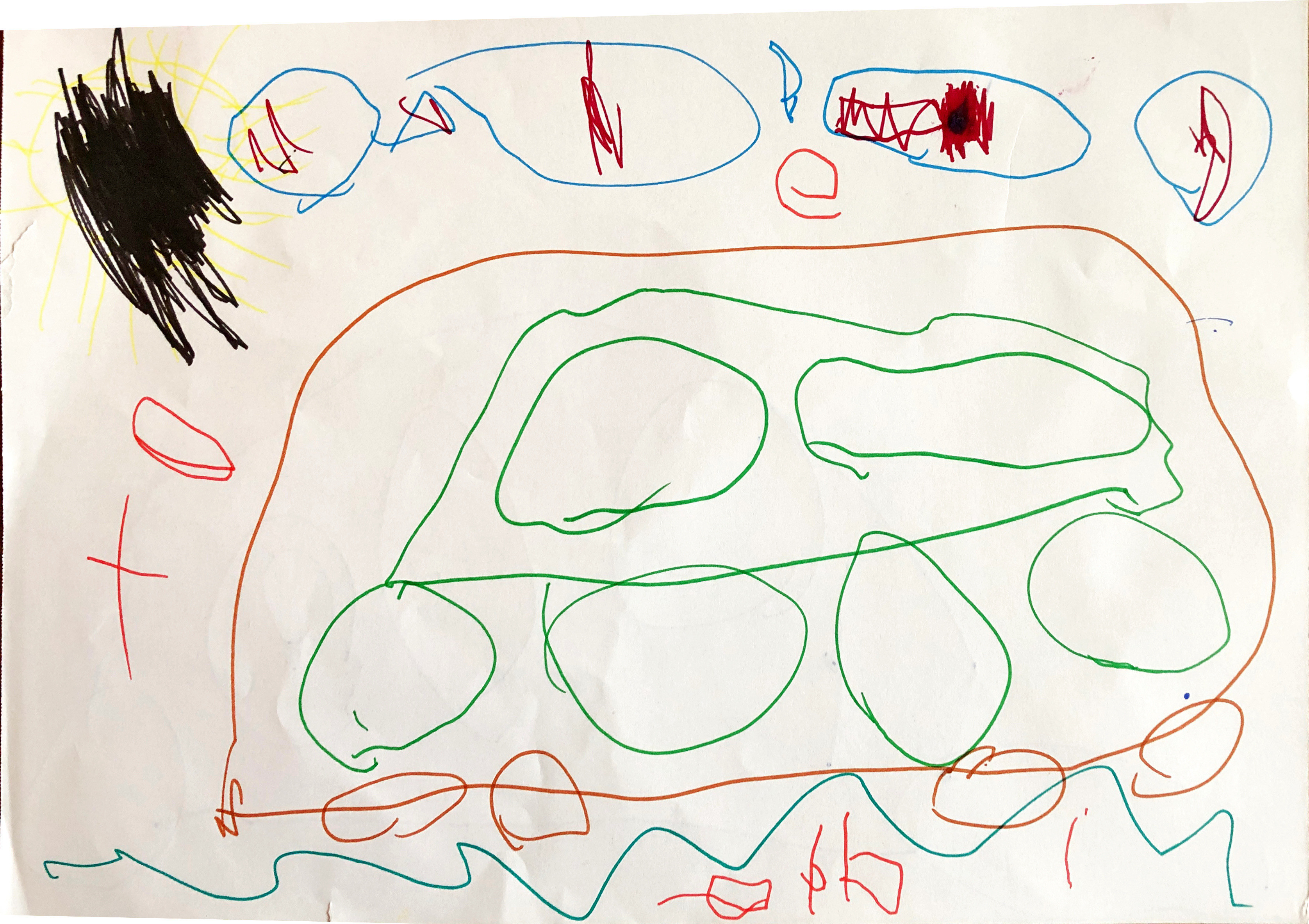 'Krassend de wereld in...' 0-5 jarigen