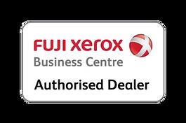 Fuji Xerox authorised dealer logo no bac