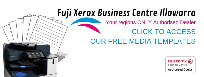 Media Templates Fuji Xerox Business