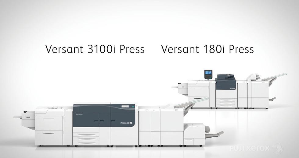Fuji Xerox Versant 3100i Press / Versant 180i Press Introduction