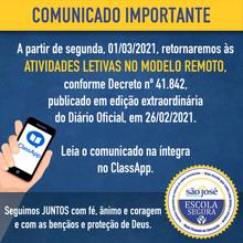 Comunicado Decreto nº 41.842