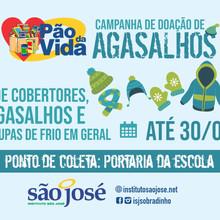 Participe da Campanha de Doação de Agasalhos do Instituto São José