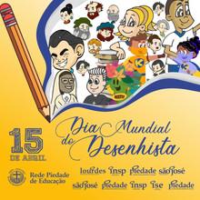 No Dia Mundial do Desenhista, parabenizamos todos os ilustradores e cartunistas...