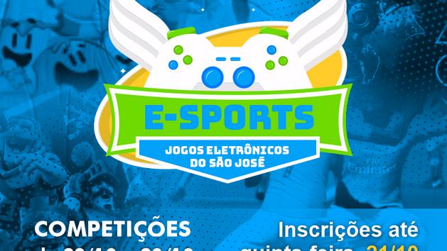 ✨Vem aí o E-Sports 2021! O campeonato de jogos eletrônicos do Instituto São José.
