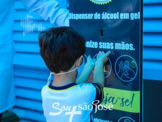 Estamos de volta! Instituto São José inicia ano letivo de 2021