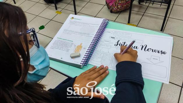 De forma criativa e atual, estudantes organizam o conhecimento em mapas mentais