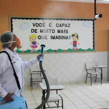As medidas previstas no Protocolo Escola Segura da Rede Piedade de Educação são práticas diárias