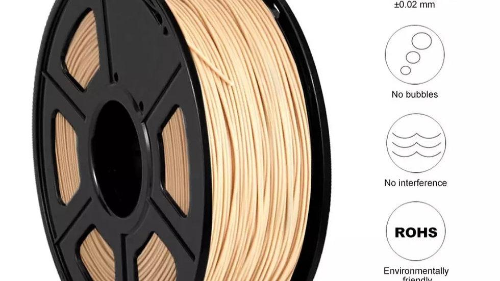 PLA Filament 1,75 mm - Hout 1 kg