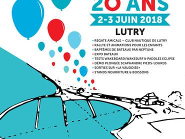 20 ans Port du Vieux-Stand Lutry - Régate amicale 2 juin 2018