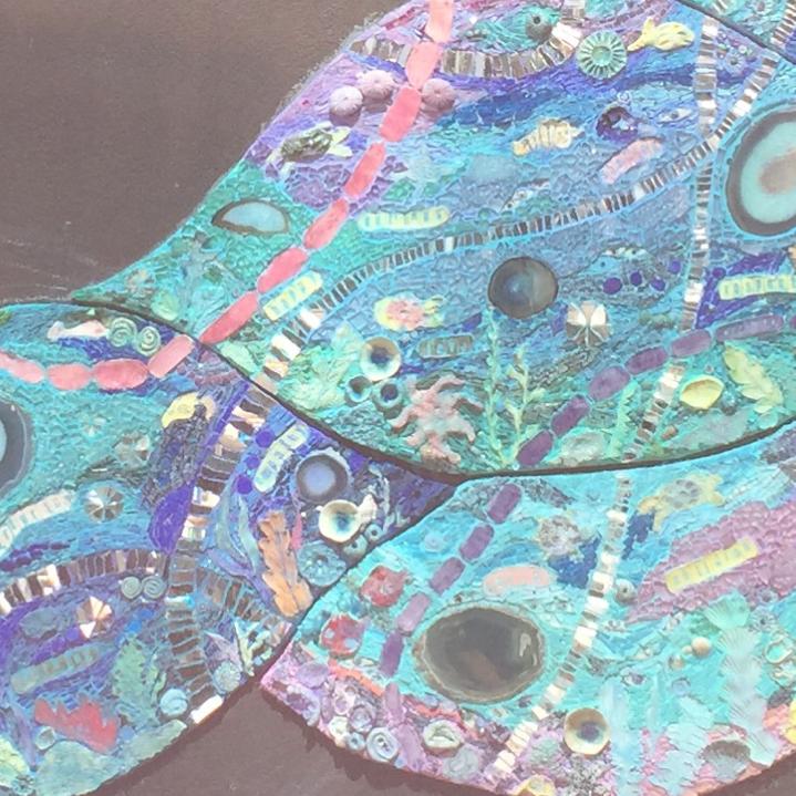 Underwater Mosaic Mural