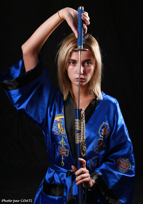 Samouraï ukrainienne !