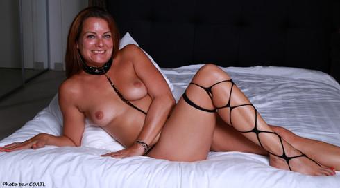 Magali au lit
