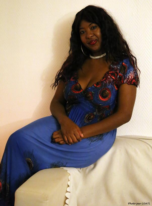 Ingrid en bleu