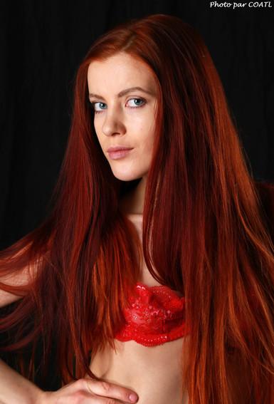 Katrina en rouge