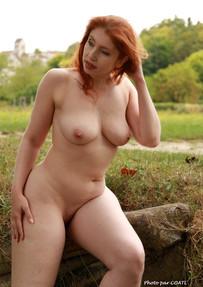 Alixia à la campagne