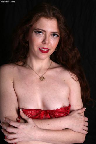 Wanda en rouge