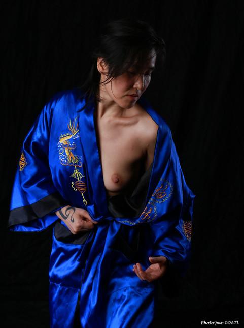 Jin-C en kimono