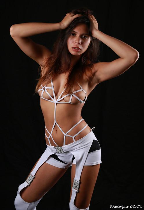 Pocahontas en blanc