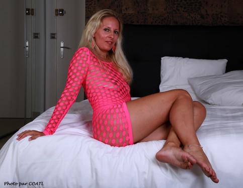 Adeline au lit