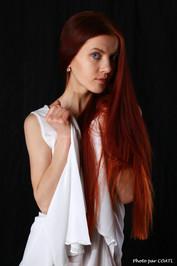 Katrina en blanc