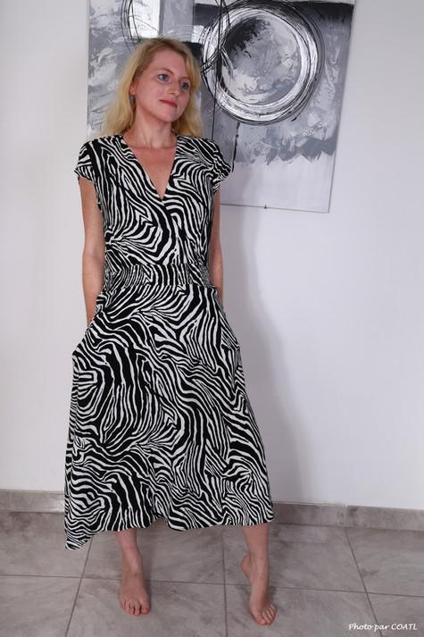 Jennifer Schmidt et sa petite robe