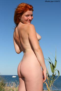 Blue Lisa à la plage 5