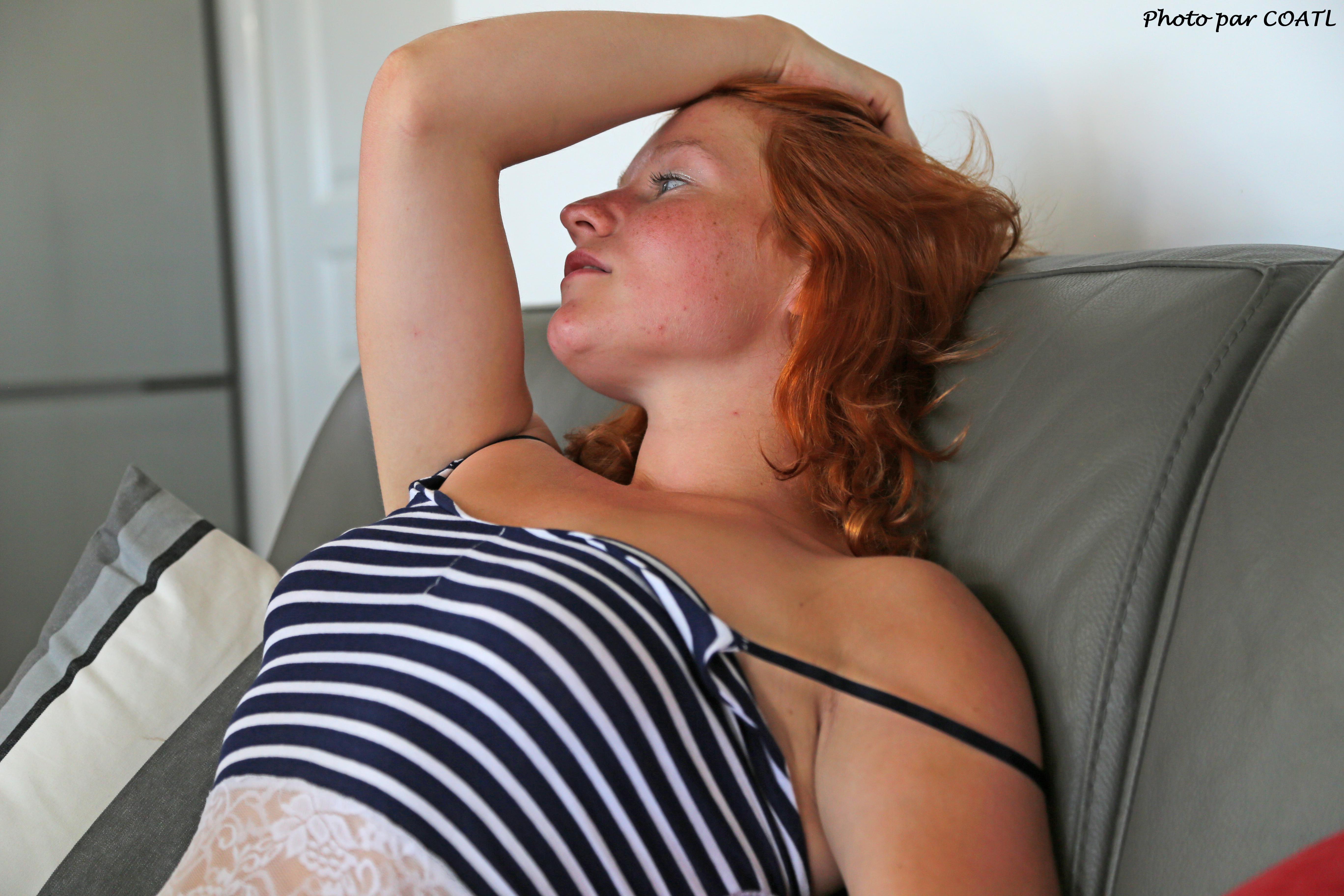Blue Lisa sur le divan 3