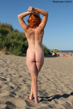 Blue Lisa à la plage 3