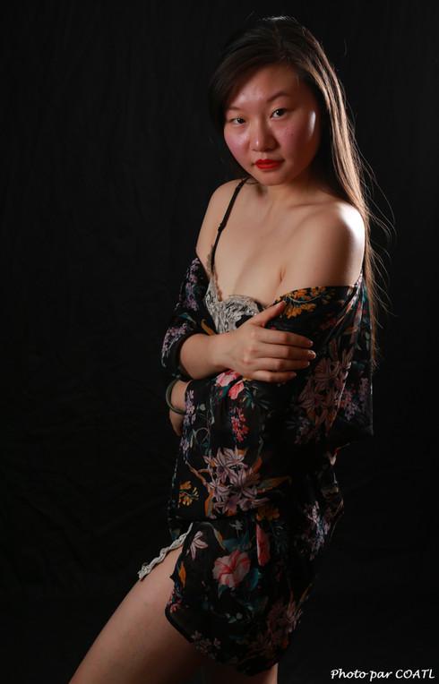 Lin Xizi en fleurs