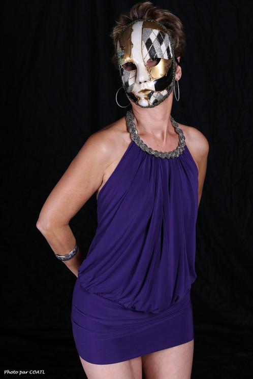 Lory, la petite robe violette