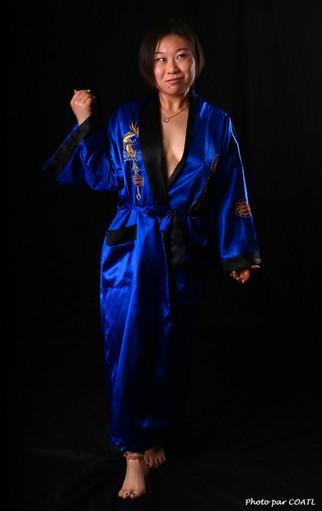 Chuang-Mu en kimono