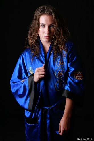 Vivid Dreamer, le kimono bleu