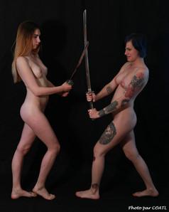 Victoria & Olya - le combat