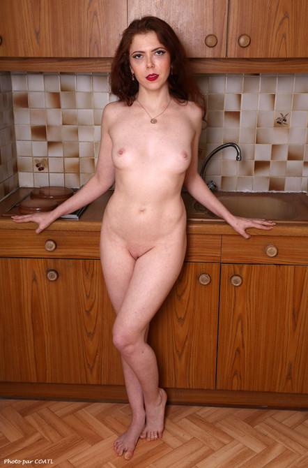 Wanda à la cuisine