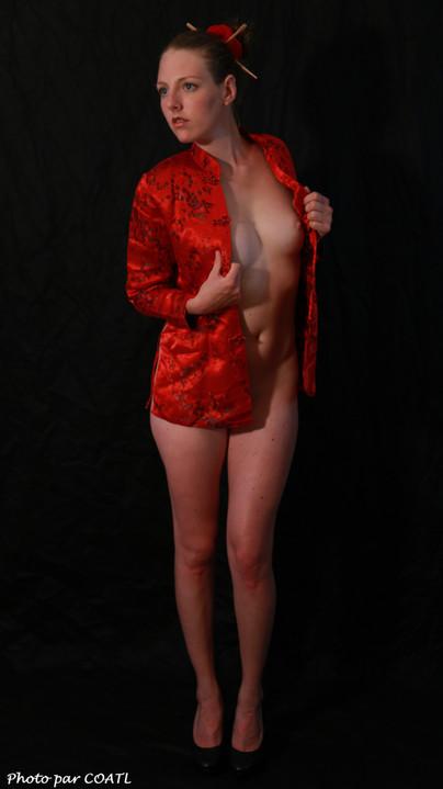 Marina en rouge