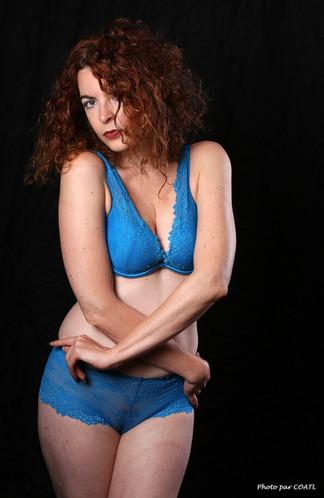 Amanita Artemisia, et son bleu de travail